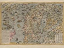 Olaus Magnus Carta Marina 1572