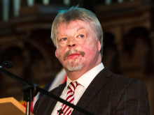 Simon Weston OBE flies the flag for Armed Forces Day