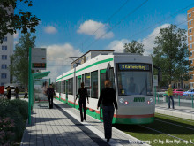 STRABAG baut Abschnitt 6 der 2. Nord-Süd-Verbindung in Magdeburg