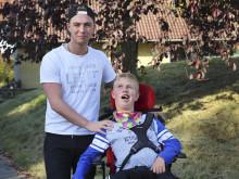 Gustavs bror drabbades av hjärnblödning