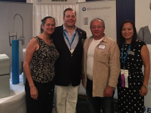 Bluewater water purifiers debut at PWQA in Los Angeles