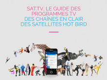 Eutelsat et Wiztivi lancent une application pour faire profiter aux téléspectateurs recevant les chaînes des satellites HOT BIRD du meilleur des programmes en clair
