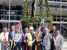 Richtfest der Theodor-Fontane-Höfe: Neu-Schönefeld am Flughafen BER boomt