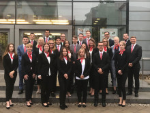 Ausbildungsbeginn für 25 Berufsstarter in der Sparkasse Mittelthüringen