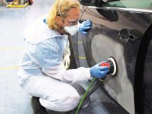 Nya sliprondeller ger effektivare slipning av lack, primer och spackel