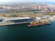 ZÜBLIN stellt neuen Hafenanleger fertig: Rostock startet pünktlich in Kreuzfahrtsaison