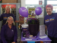 ​Dobbies helps to Make May Purple for Stroke Association