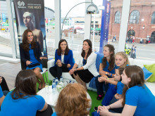 Duchess of Cambridge inspires the next generation at SportsAid reception in Glasgow
