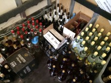 Image of seized alcohol