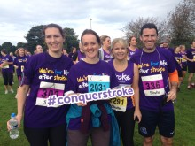 More than 200 Warrington runners help to conquer stroke