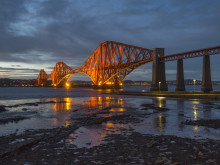 UNESCO plaque unveiled for the Forth Bridge