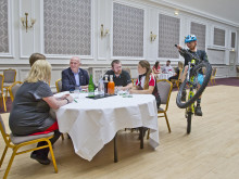 Borders on track for mountain bike conference