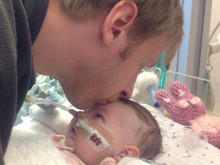 Father Pushes Himself to Raise Money in Memory of Baby Daughter
