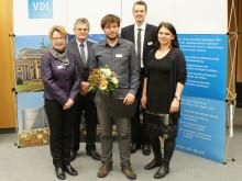 Wirtschaftsinformatik-Masterabsolvent der TH Wildau erhielt 1. Preis des VDI für Entwicklung einer Flugrettungsplattform für den Katastrophenschutz