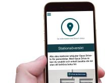 Opus Bilprovning-appen - Köp och sälj - Stationsöversikt