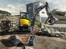 Volvo ECR50D har kraft när det behövs