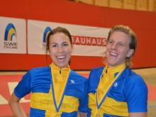 Isabelle Söderberg och Jonas Ahlstrand svenska mästare i bancykel