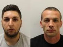 Two men jailed for controlling prostitution