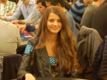 Pokerproffset Sofia Lövgren på EPT Sanremo 2014