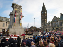 Thousands gather for Remembrance Sunday Services
