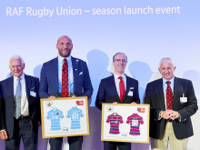 BT and the RAF join up for the UK Armed Forces Inter-Services Rugby Union Competition