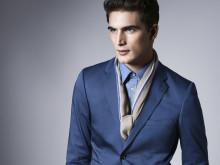 MQ Lookbook 2014 - Skräddad blåskala och modern couture