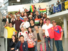 Internationaler Nachmittag am 23. Oktober 2014 war wieder ein Treffen von Studierenden aus aller Welt