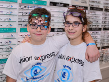 Cancer champions awarded at Ipswich opticians