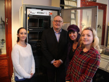 Timely delivery for Newark horology museum as BT donates third Speaking Clock