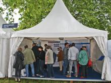Technische Hochschule Wildau auf dem 3. Potsdamer Tag der Wissenschaften am 9. Mai 2015 mit 3D-Drucker, Kaffeeautomat und Drohne für zivile Anwendungen