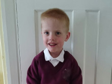 Henry starts school after beating life-threatening condition