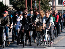 Urban cycling is growing