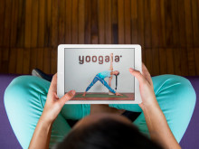 Online yoga studio Yoogaia  wins 'Largest Global Potential' Award in the Best Mobile Service 2015 competition in Slush2015