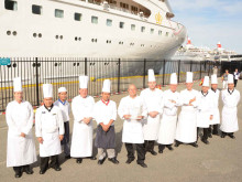 Ramblers Worldwide Holidays 'Toasts' Fred. Olsen's 'Best Cruise Line for Food' Award