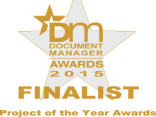 Three Fortrus customers have been shortlisted for the Document Manager Project of the Year 2015