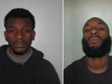 Two men jailed for violent disorder