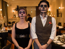 Local firms give children's charity a spooky treat!