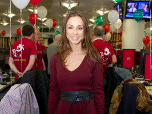 Lindsay Armaou at CIBC Miracle Day 2015