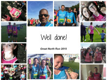 Great North Run - Thank you!