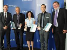 Rolls-Royce Deutschland Innovationspreis 2015 für Projekt zum sicheren und effizienten Fliegen