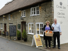 The busy village pub is a sign of thriving rural community