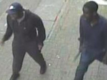 Image of two men police wish to speak with