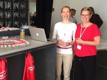Digital PR Bootcamp München: Mynewsdesk Kollegen Sabine Straßburg und Kristina Pilkinton