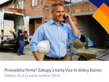 Karty Visa Business coraz popularniejsze wśród przedsiębiorców