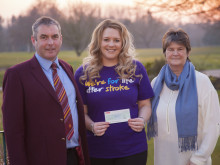 Crewe Golf Club raises over £7,000 for the Stroke Association