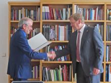 Dr.-Ing. Frank Gillert zum Professor für Logistikmanagement am Fachbereich Ingenieur- und Naturwissenschaften berufen
