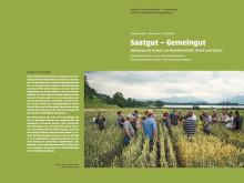 Umschlag für Studie ‹Saatgut –Gemeingut›