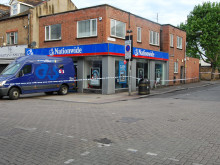 Image of scene of armed robbery in Walthamstow