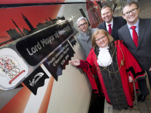 "Virgin Trains' locomotive named the ""Lord Mayor of Newcastle"""