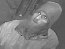 Man sought after offensive item thrown towards mosque